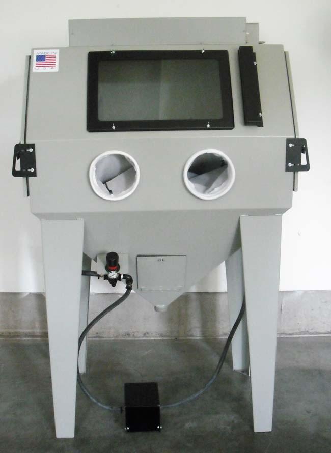 Media Blast Cabinet - Blasting Cabinets - Glass Bead Cabinets