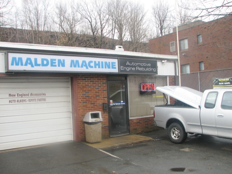 malden machine shop