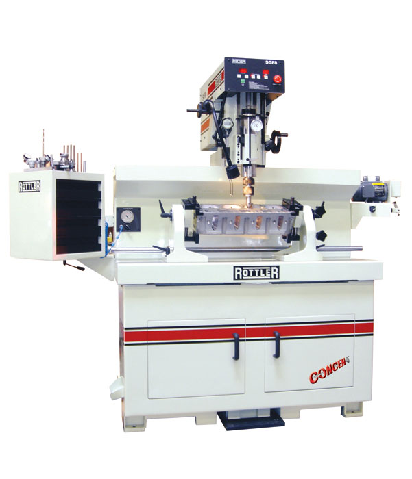 Rottler SG8 & SGM Seat and Guide  Machine Information