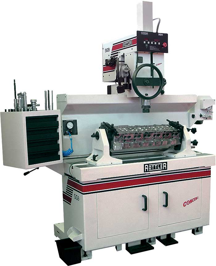 Rottler SG 9 Seat and Guide Machine Information