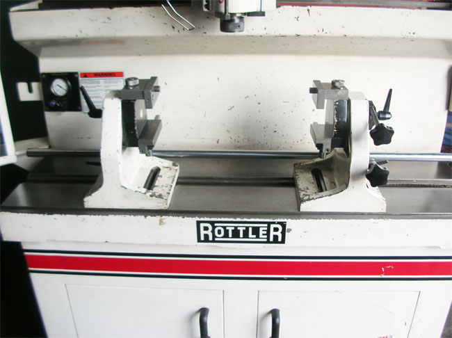 Used Rottler Sg 8 Seat And Guide Machine