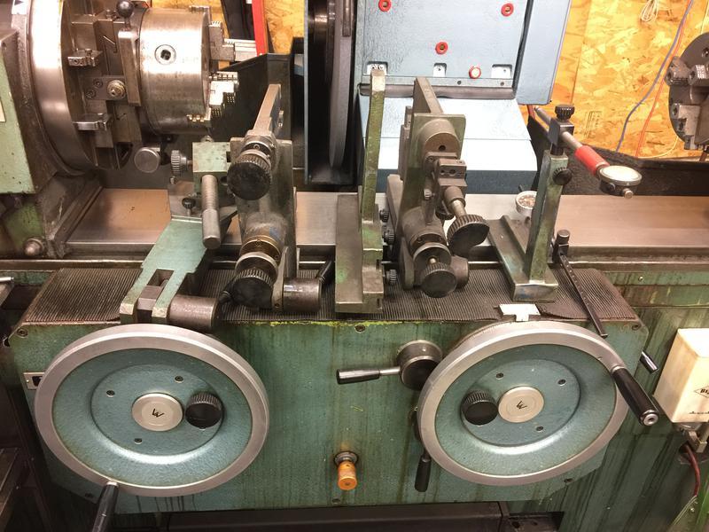 Used Winona Cg250 Crankshaft Grinder